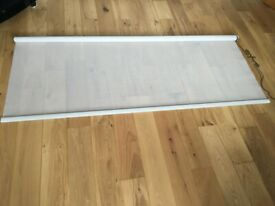Set of 5 roller blinds complete with fixing brackets