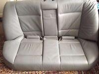 Bmw 3 series M Sport E46 Rear Seats Grey 325i Saloon