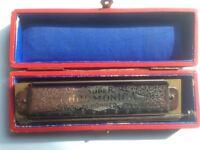 Vintage Chromatic Harmonica