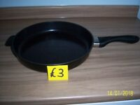 Large frying pan.