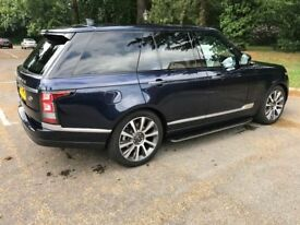 LAND ROVER RANGE ROVER 3.0 TD V6 Vogue SE Station Wagon 4x4 5dr (start/st (blue) 2017
