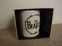 The Beatles - Sculptured 3D Drum and Logo - Boxed Ceramic Mug