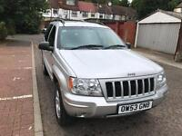 JEEP GRAND CHEROKEE 2.7 CRD Limited 5dr Auto (silver) 2004