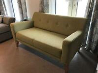 Small Sofa , two seater . John Lewis - hardly used