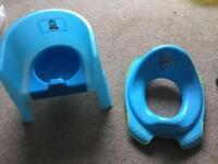 Thomas the Tank Engine Potty and Buzz toilet seat