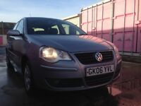 2006 VW POLO 1.2 5 DOOR cheap tax and insurance good idea for a new driver £1399