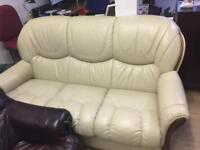 Ex gillies quality secondhand leather suites