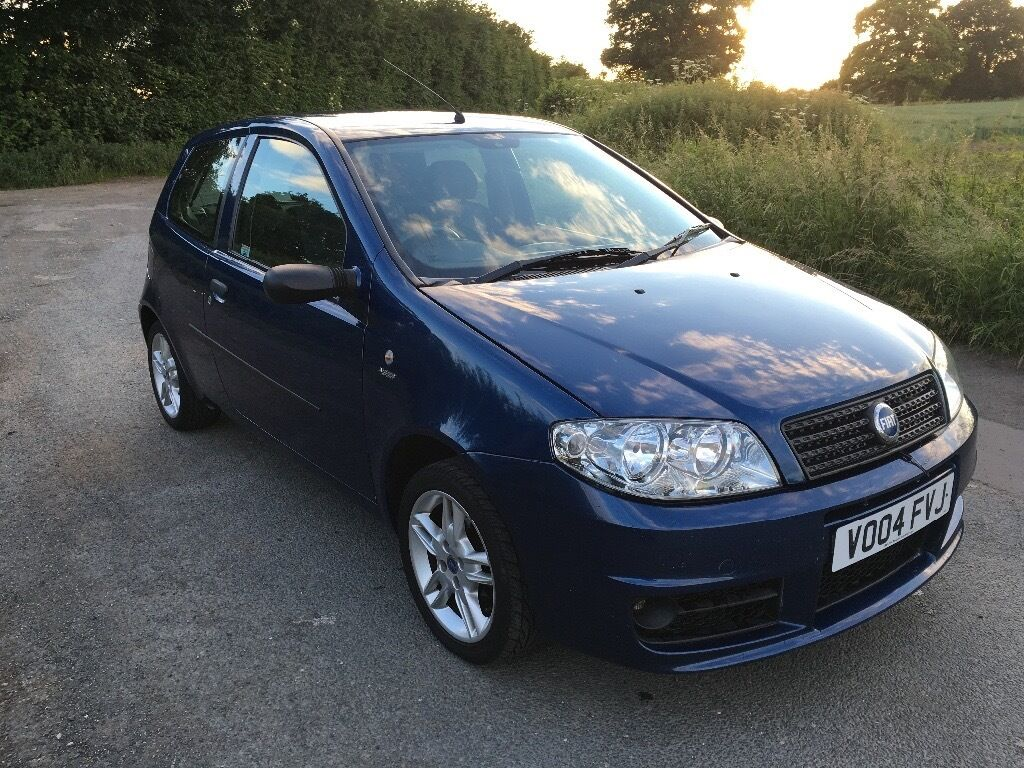 fiat punto 1 2 active sport 04 reg 10 months mot 395 in york north yorkshire gumtree. Black Bedroom Furniture Sets. Home Design Ideas