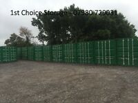 20ft / 40ft CONTAINERS FOR RENT - HOCKLEY - ESSEX - 24hr SECURITY - SELF STORAGE