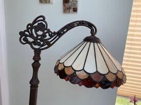Tiffany style standard lamp