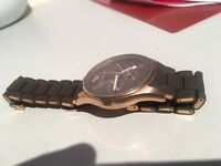 Original Armani Rose Gold watch RRP £335 MENS