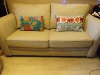 HARVEYS beautiful three seat grey silver sofa 6 mth old immaculate