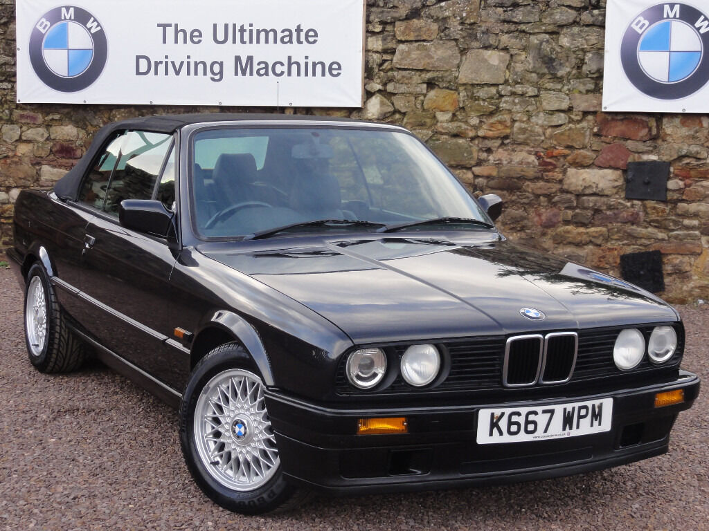 BMW E30 318i Lux Convertible, Manual, 1 Owner, 1993 / K Reg,