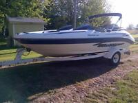 Boat for parts, trailer included-Quick sale
