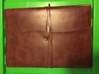 Romano Handmade Italian Recycled Leather Journal Large A4 Size (23cm x 30cm)