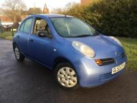 2003/53 REG NISSAN MICRA 1.2S ** 2 LADY OWNERS FSH ** £995