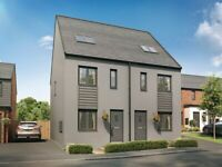 3 Bedroom property to rent with Hafod Housing Association in St Edeyrns Village, Old St Mellons