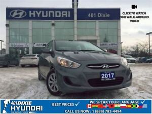 2017 Hyundai Accent GL|HEATED SEATS|ALLOYS|BLUETOOTH|