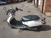 SYM ALLO CLASSIC SCOOTER DAILY COMMUTER 100+MPG ROAD LEGAL FOR CBT LEARNER DRIVERS FULL SERVICED