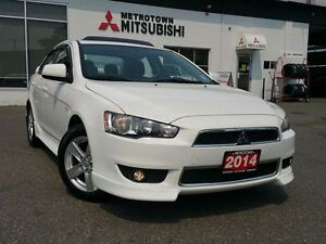 2014 Mitsubishi Lancer SE LTD; CERTIFIED PRE-OWNED!