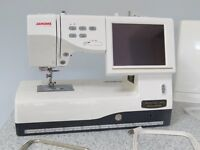 Janome Memory Craft 11000SE Sewing, embroidery and quilting machine