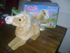 Animatic Honey the Pony Interactive Plush Toy (in original box)