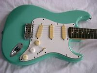 Fender Squier Bullet S-3T electric guitar - Seafoam Green - Korean