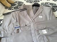 New with labels mens taupe suit