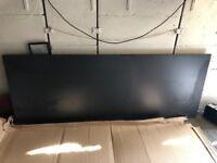 Laminate Worktop - Black Matt 240cm x 90cm