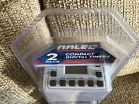 2 Compact Digital Timers