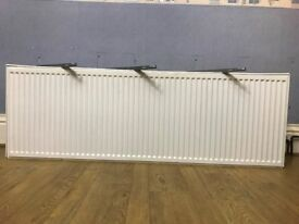 1800mm By 600mm Double Radiator in Very Good Condition