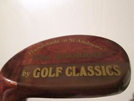 **OFFERS**-HANDMADE IN ST ANDREWS THE ALUMNUS PUTTER BY GOLF CLASSICS