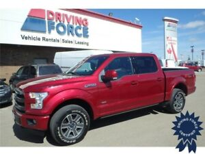 2016 Ford F-150 Lariat FX4 Super Crew 4x4, 17,010 KMs, Short Box