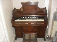 W. Bell & Company Guelph Pump Organ (Harmonium).Antique.