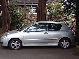 TOYOTA COROLLA 1.6, 2005, NEEDS GEAR SELECTOR MOUNT! BESIDE THAT WORKS PERFECTLY