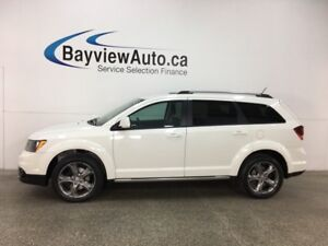 2017 Dodge Journey Crossroad - REM START! HTD LTHR! 3 ZONE CL...