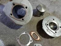 Lambretta Gp 200 head barrel and piston