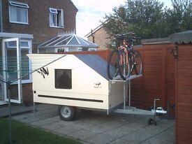 Teardrop trailer/Mini Caravan/Sleeping pod/Multi trailer/ Glamping
