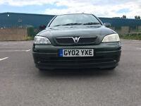 Vauxhall Astra 1.6 i Club 5dr (a/c)£799 p/x welcome 2002 (02 reg), Hatchback