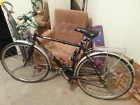 Ridgeback gents hybrid road bike