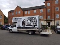 5* HOUSE REMOVALS & WASTE CLEARANCE - MAN WITH VAN - DOMESTIC & BUSINESS - ITEM COLLECTION SERVICE