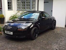 2001 Audi TT 225 Black