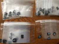 74 x Micro SD 32, 16, 8, 4, 2, 1 GB Job lot *Used cards*