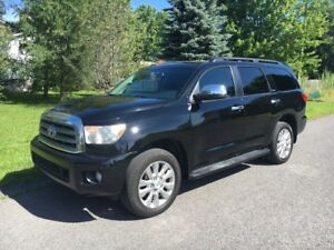 2012 Toyota Sequoia Platinum NAV+TV+DVD