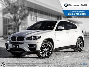 2013 BMW X6 35i Technology Package! Low kms! No Accidents!