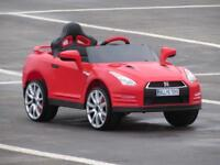 Nissan GTR Ride on cars with parental controls brand new