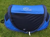 NScessity Sun Essentials UV Pop Up Travel Cot/Tent