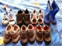 7 pairs boys shoes size7