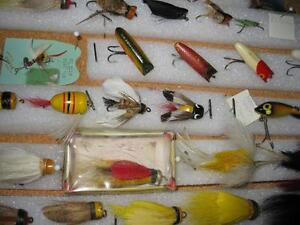 ANTIQUE FLYROD LURE COLLECTION Kawartha Lakes Peterborough Area image 8