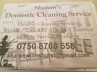 Sharons domestic cleaning service